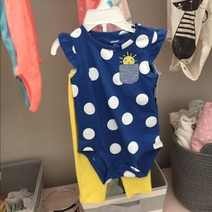 Carters 6mo outfit baby girl